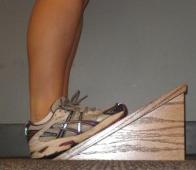 calf stretch angle board