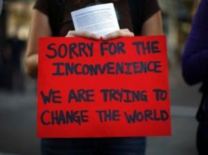 Occupy movement demonstrator oakland