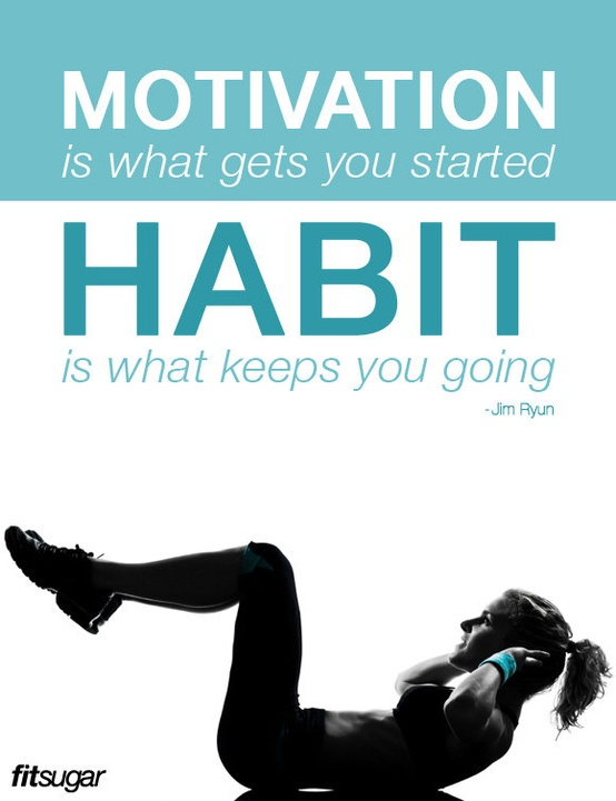 motivation is what get's you started habit is what keeps meeting