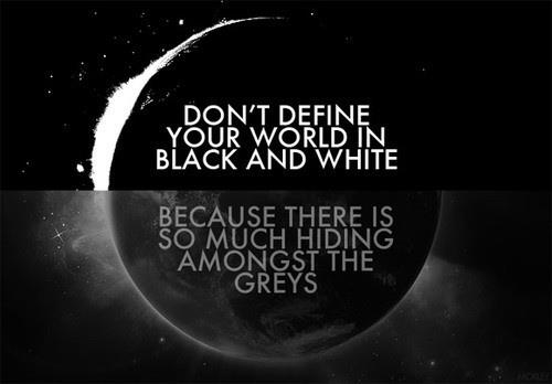 Because there is so much hiding amongst the greys