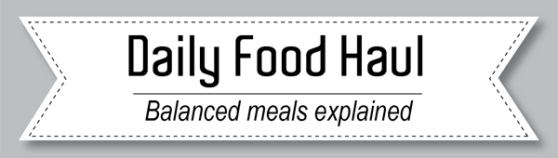 USDA daily food haul balance meals