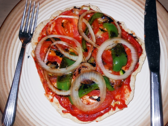 cast iron skillet gourmet pizza