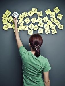 smart goals sticky notes