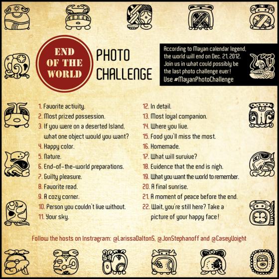 Mayan daily photo challenge Dec. 21 2012
