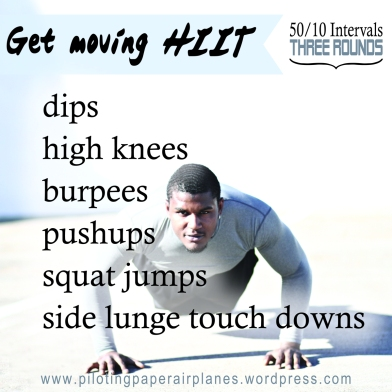 Get Moving HIIT {Piloting Paper Airplanes}