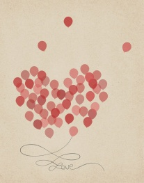 Love #FollowYourHeart #balloons #love #inspiration {Piloting Paper Airplanes}