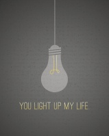 """You Light Up My Life"""" {Piloting Paper Airplanes}"""
