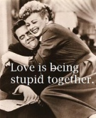 Love is being stupid together. {Piloting Paper