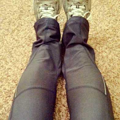 Nike DriFit pants {Piloting Paper Airplanes}